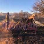 Alarma por incendio de pastizal que amenazaba con extenderse a Villas del Oeste