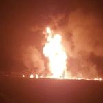 No han sofocado el incendio en Hidalgo y aparece otro ducto en llamas en el estado de Querétaro sin daños personales