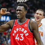 105-115. Siakam, Leonard e Ibaka dan a Raptors quinto triunfo consecutivo
