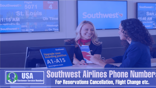 Southwest Airlines Phone Numbers