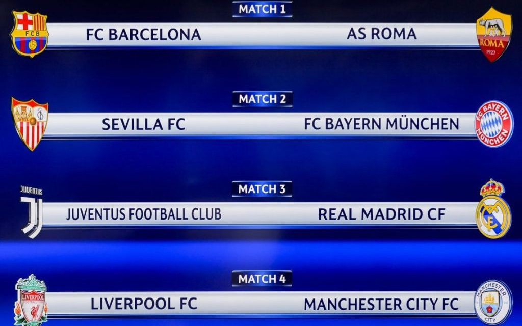 Champions League: se sortearon los cruces de cuartos de final