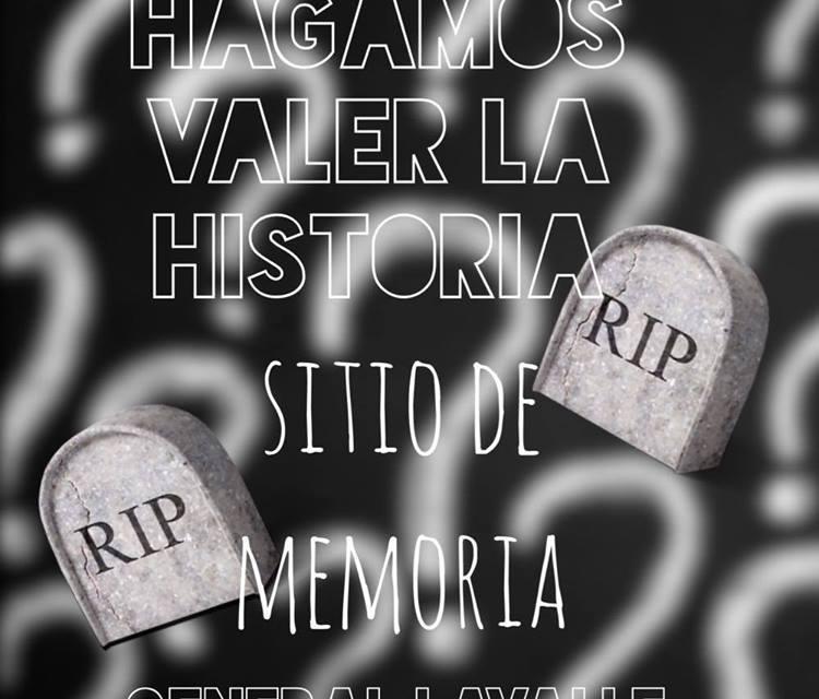Sitio de Memoria – Actividades Marzo 2018 -Jóvenes y memoria