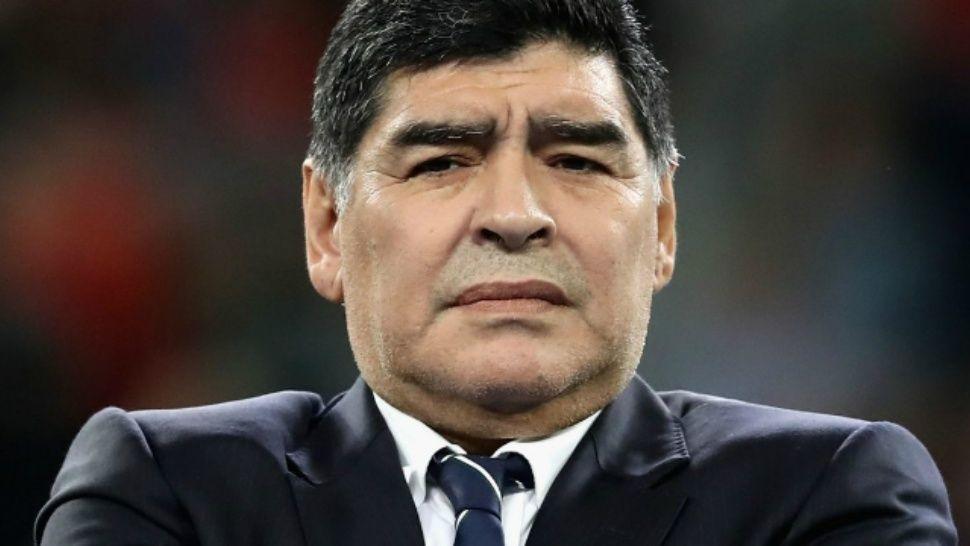 Maradona: «El casamiento de Dalma lo pagué yo»