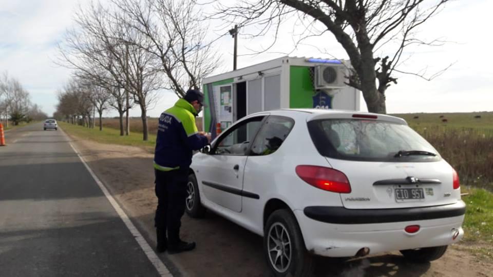 Profundizaron los controles vehiculares en lugares selectivos por parte de la policía