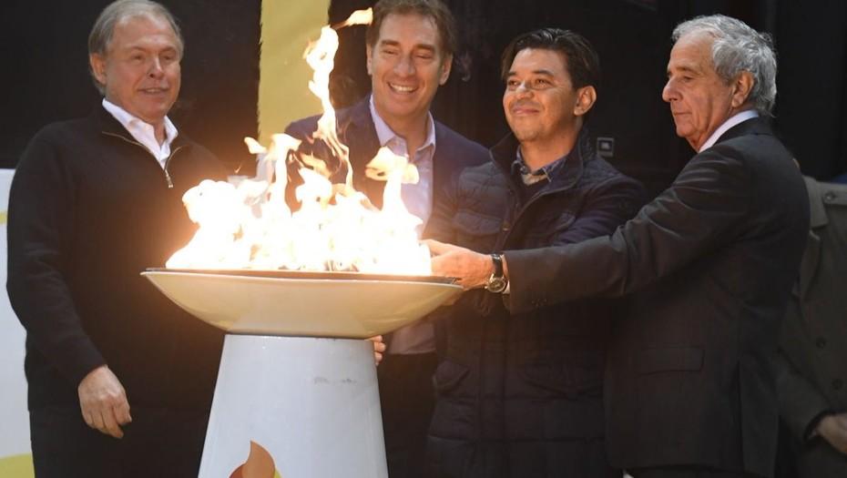 River  Rodolfo D'Onofrio le hizo un guiño a Claudio Chiqui Tapia y reveló cómo fue el encuentro con Mauricio Macri
