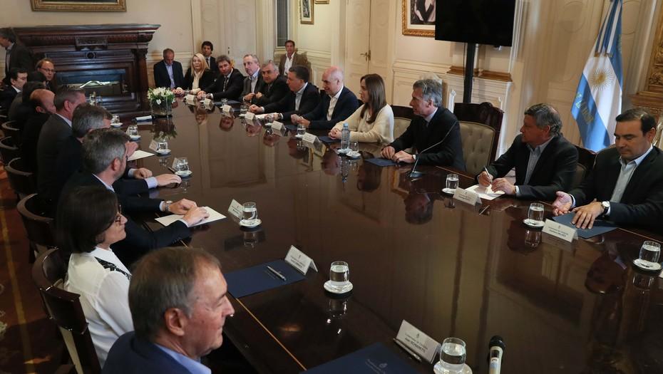 Diálogo con la oposición  Presupuesto: el Gobierno suma más gobernadores, pero no se asegura todos los votos
