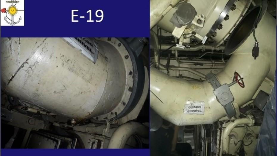 La hipótesis más fuerte  Noticias del ARA San Juan: un error con la válvula E19, la clave del naufragio según un informe de expertos