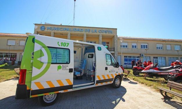 Ya son 7 las ambulancias entregadas por AUBASA para asistencia en rutas