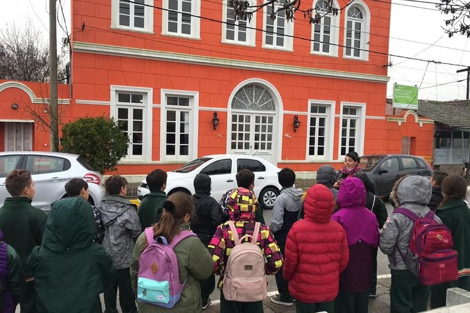 Alumnos de una escuela de Mar de Ajó visitaron Lavalle