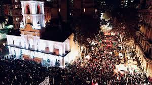 Histórica y multitudinaria marcha por Ni Una Menos