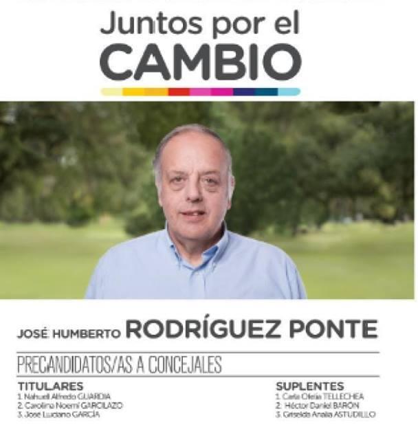 ACTO DE PRESENTACIÓN DE LISTA «JUNTOS POR EL CAMBIO»