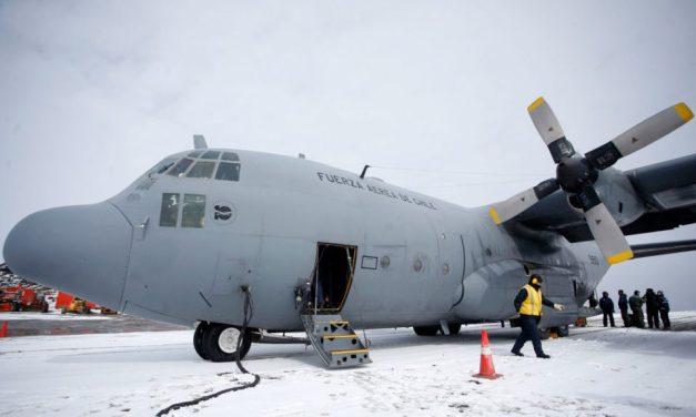 La Fuerza Aérea de Chile encontró restos del avión militar desaparecido en la Antártida