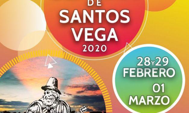 "Confirmaron las fechas de la ""Fiesta Nacional Semana de Santos Vega 2020"