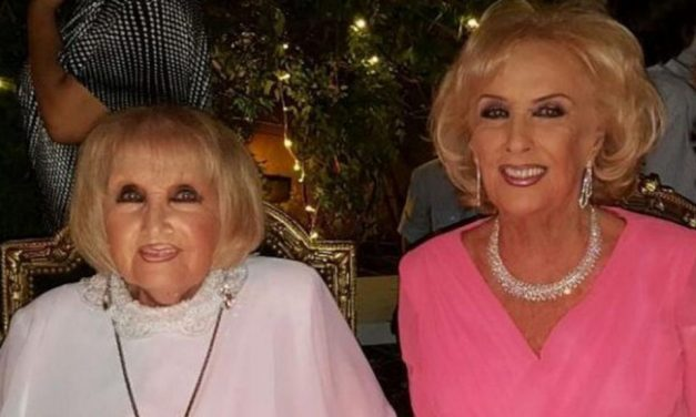 Murió Silvia «Goldie» Legrand, hermana gemela de Mirtha
