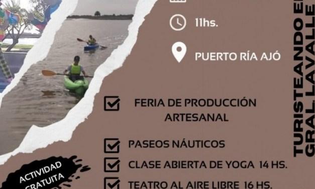 Deportes  Turismo  Producción Próximo domingo se realizará una jornada completa de actividades al aire libre en el puerto de la Ría Ajó