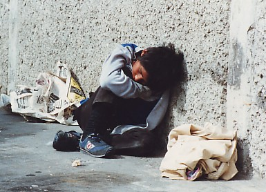 Niño callejero