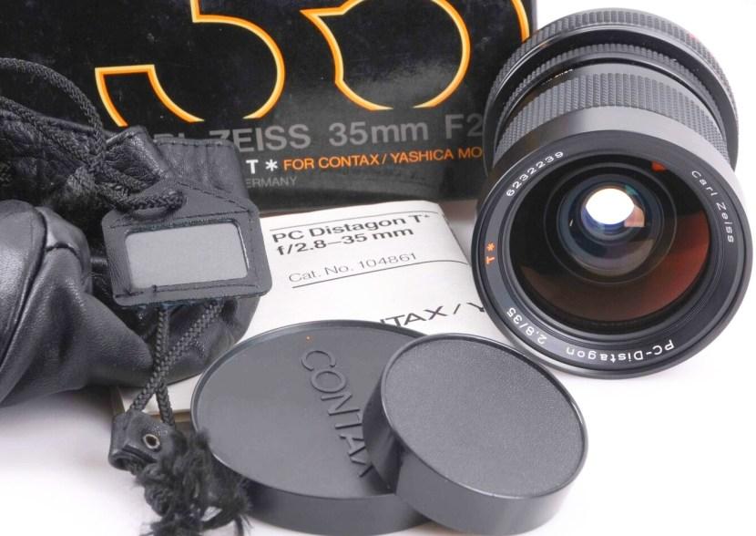35mm 2,8 PC Distagon von Carl Zeiss