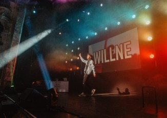 Will Lenney performs to a Sold Out Newcastle Theatre Royal