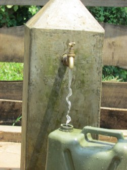 The school well provided clean water for the area.