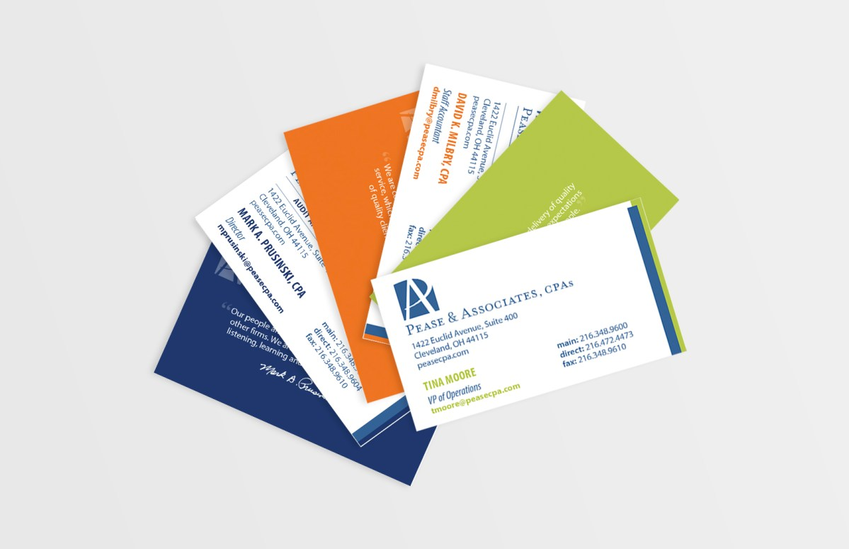 Pease Business Card