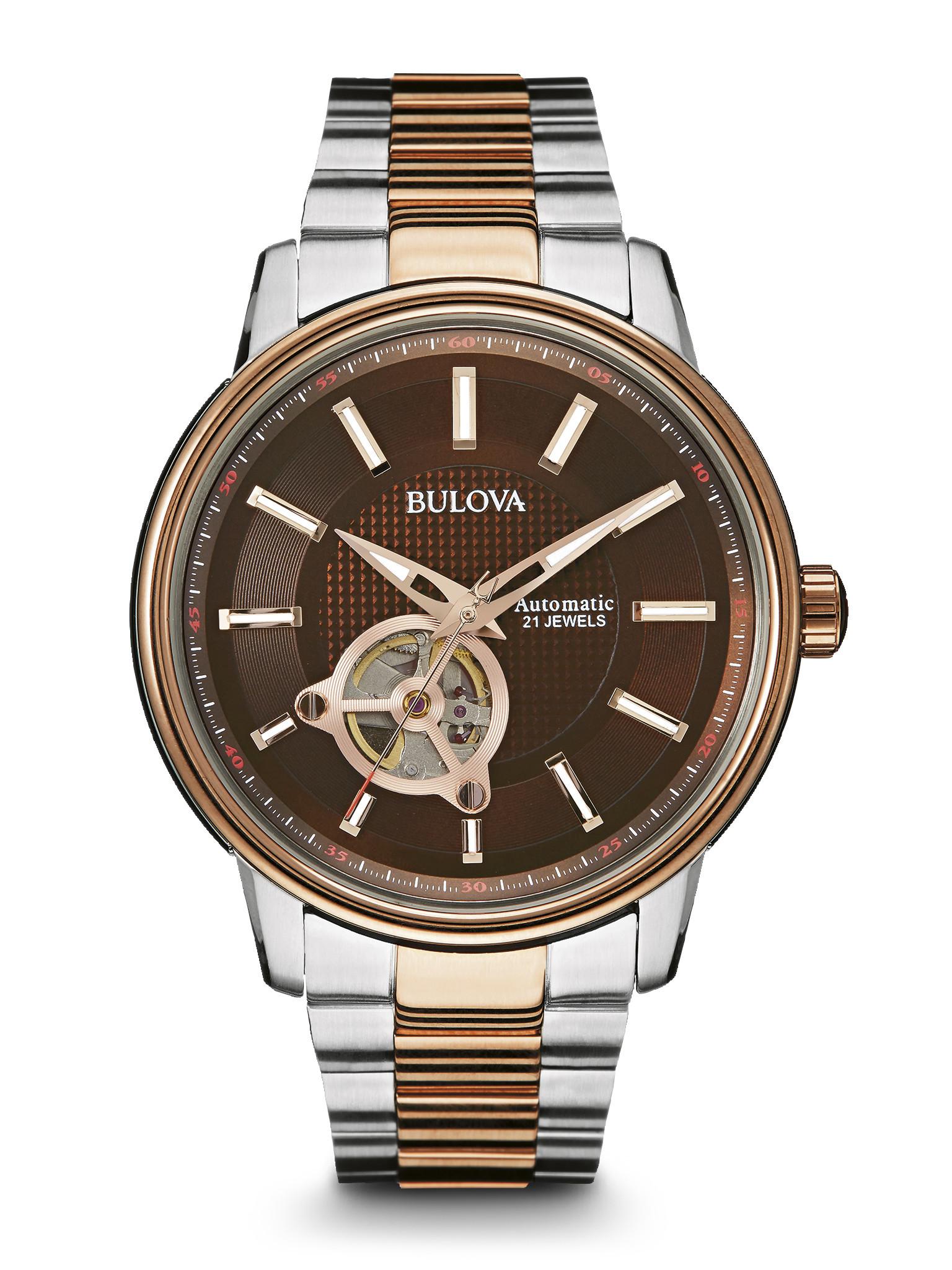 Bulova Mens Automatic Watch 98A140 Long Island NY Men