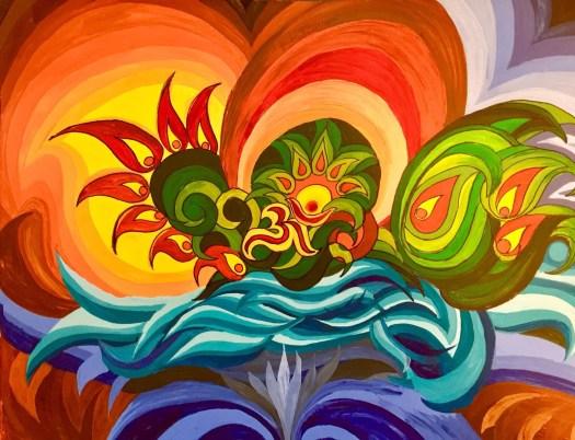 Artist artwork painting Guru banker