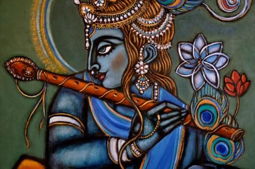 painting Goddess India