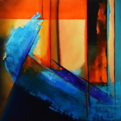 Brisa Fresca de Verano.Oil on Canvas