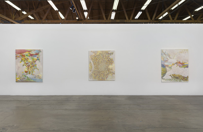 Dan Bayles, The Apotheosis of Washington, Installation View (2015). Photo courtesy of François Ghebaly Gallery