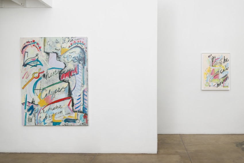 Jesse Willenbring, Sponsored by Homer (2016). Installation view. Image courtesy of the artist and Thomas Duncan Gallery.