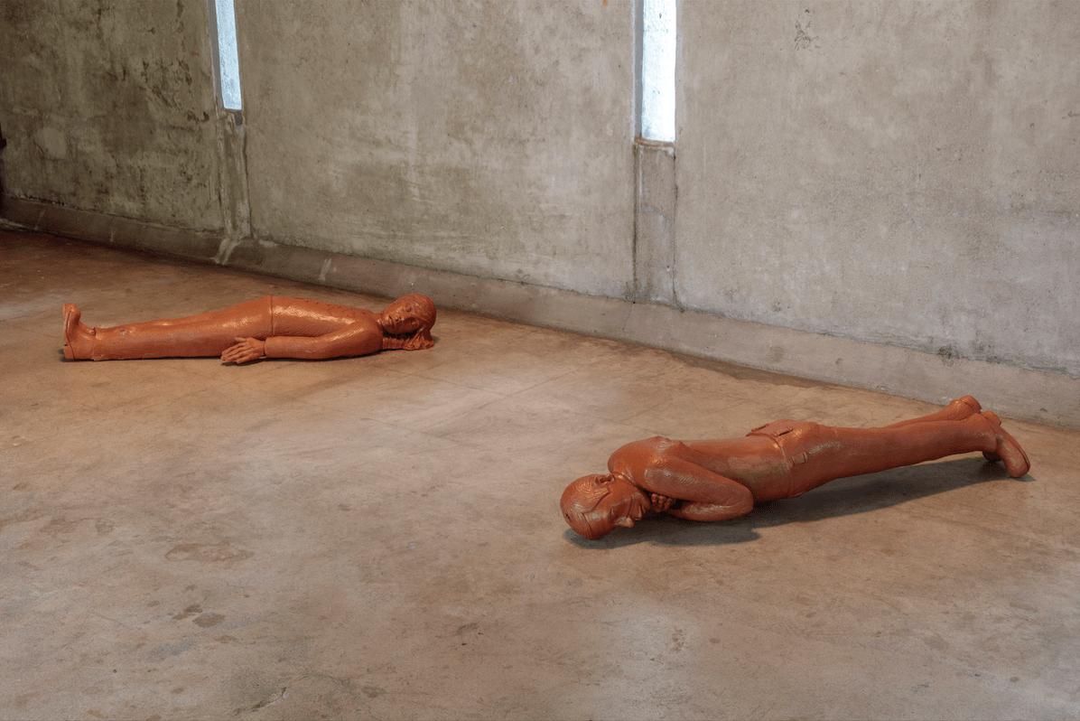 Galería Perdida, Recto Verso (2016). Terracotta. Image courtesy of the MAK