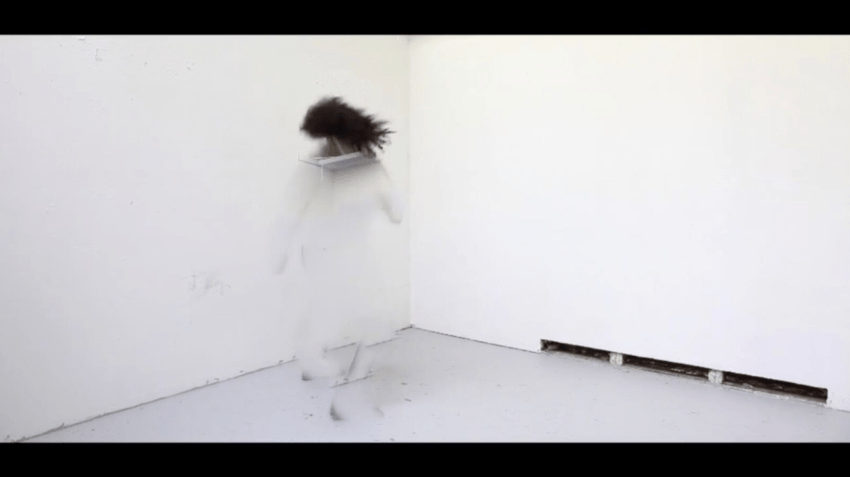 Sondra Perry, Double Quadruple Etcetera Etcetera (2013). Video, Performed by Danny Giles & Joiri Minaya, 9:00 min. Image courtesy of the artist and AA|LA. Photo: