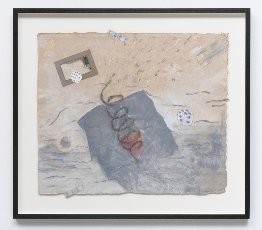 Betye Saar, Small Betrayals (1993). Mixed media drawings/collage on paper, 25.50 x 29 inches. Image courtesy of the artist and Roberts & Tilton, Culver City, CA.