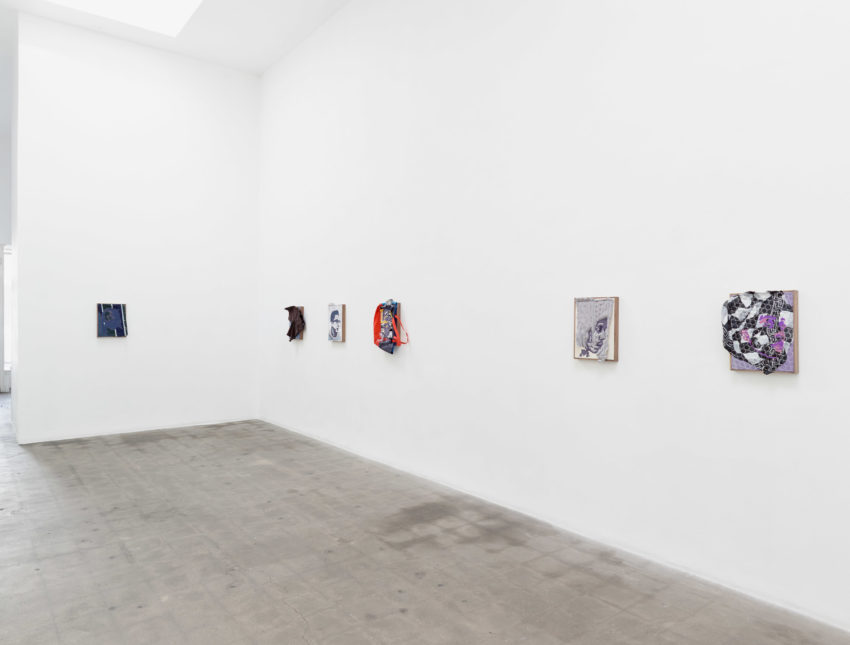 Brendan Fowler, New Portraits (Installation view). Image courtesy of the artist and Richard Telles Fine Art. Photo credit: Marten Elder.