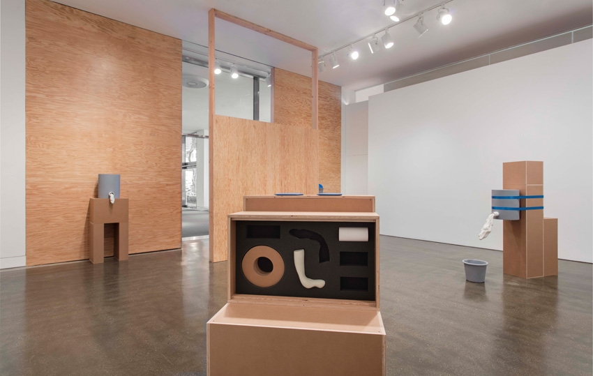 Lauren Davis Fisher, Made in L.A. 2016: a, the, though, only (2016) (installation view). June 12–August 28, 2016, Hammer Museum, Los Angeles. Photo: Brian Forrest.