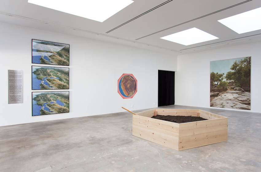 Newton and Helen Harrison, The Harrisons (2017) (Installation View). Image Courtesy of Various Small Fires, Los Angeles.