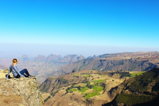 Simien mountain views