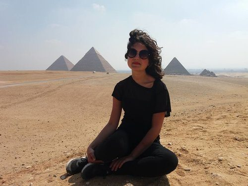 Girl gone global - Lily Sommer in Egypt