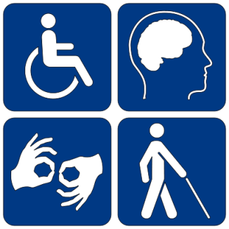 hanicapped sign