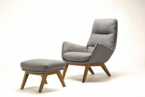 MORO CHAIR & FOOTSTOOL