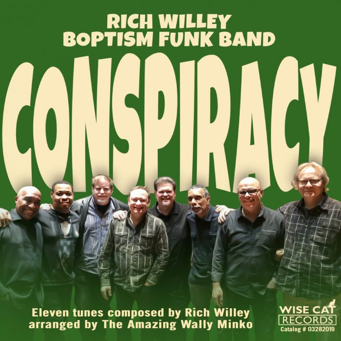 Inimitably infectious jazz fun Rich Willey's Boptism Funk Band