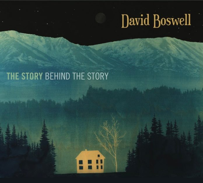Skillful versatile jazz guitar David Boswell
