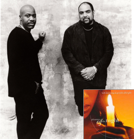 Will Downing and Gerald Albright 1998 photo by Eric Johnson