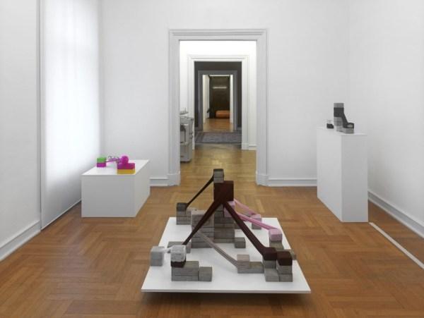 Zuzanna Janin, Pasygraphy. Solaris I (Hommage a St. Lem), 2008. Installation view Museum Morsbroich, Leverkusen. Courtesy lokal 30 Gallery, photo: Museum Morsbroich, Leverkusen