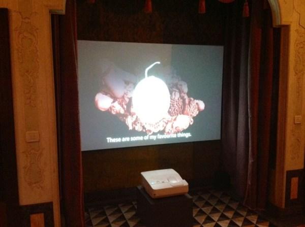 "Agnieszka Polska, ""My Favourite Things "", 2010, video, 05:35, The Future Generation Art Prize@Venice, Venice Biennale 2013, photo Lynx"