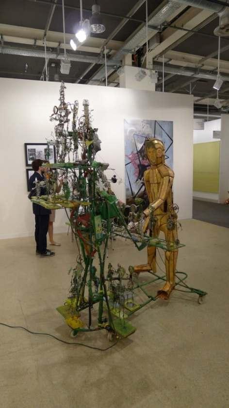 Paweł Althamer, Foksal Gallery Foundation, Hall 2.1 / H9, photo Andrzej Szczepaniak for Contemporary Lynx