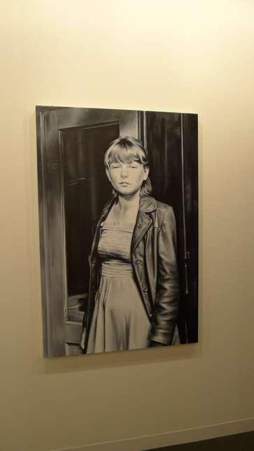 Marcin Maciejowski, Avant-garde, 2013, oil on canvas, 150 x 100 cm, Galerie Thaddaeus Ropac, Hall 2.0 / B11, photo Andrzej Szczepaniak for Contemporary Lynx