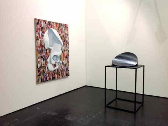 Przemek Matecki, Michał Budny, Raster Gallery, booth D12, photo Contemporary Lynx