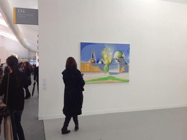 Wilhelm Sasnal, Sadie Coles HQ, Stand D4, photo Contemporary Lynx