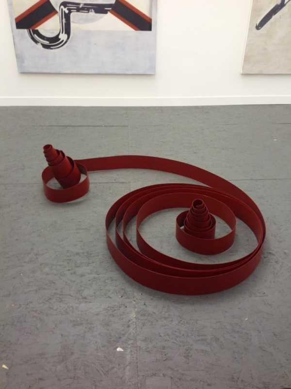 Marzena Nowak, Galerija Gregor Podnar, Stand F11, photo Contemporary Lynx